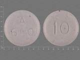 A;640;10. aripiprazole 10 MG Disintegrating Oral Tablet [Abilify]. Ingredients: ARIPIPRAZOLE[ARIPIPRAZOLE]; PHENYLALANINE[]