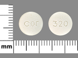 cor;320. Acarbose 100 MG Oral Tablet. Ingredients: ACARBOSE[ACARBOSE]