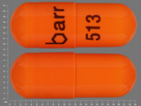 barr;513. acetazolamide 500 MG 12 HR Extended Release Capsule. Ingredients: Acetazolamide