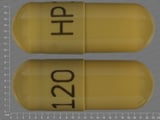 HP120. 12 HR Acetazolamide 500 MG Extended Release Oral Capsule. Ingredients: ACETAZOLAMIDE[ACETAZOLAMIDE]