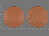2103;V. Amitriptyline Hydrochloride 50 MG Oral Tablet. Ingredients: Amitriptyline