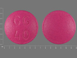 GG40. Amitriptyline Hydrochloride 10 MG Oral Tablet. Ingredients: Amitriptyline