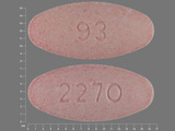 93;2270. Amoxicillin 200 MG / Clavulanate 28.5 MG Chewable Tablet. Ingredients: Amoxicillin; Clavulanate