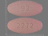 93;2272. Amoxicillin 400 MG / Clavulanate 57 MG Chewable Tablet. Ingredients: Amoxicillin; Clavulanate