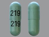 219. Cephalexin 500 MG Oral Capsule. Ingredients: CEPHALEXIN[CEPHALEXIN ANHYDROUS]