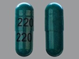 220. Cephalexin 250 MG Oral Capsule. Ingredients: CEPHALEXIN[CEPHALEXIN ANHYDROUS]