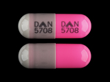 DAN;5708. Clindamycin 150 MG Oral Capsule. Ingredients: CLINDAMYCIN HYDROCHLORIDE[CLINDAMYCIN]