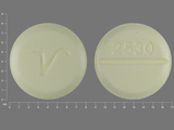 2530;V. Clonazepam - Clonazepam 0.5 MG Oral Tablet. Ingredients: CLONAZEPAM