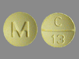 M;C;13. Clonazepam - Clonazepam 0.5 MG Oral Tablet. Ingredients: CLONAZEPAM