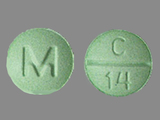 M;C;14. Clonazepam - Clonazepam 1 MG Oral Tablet. Ingredients: CLONAZEPAM