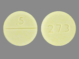5;273. CLONAZEPAM - Clonazepam 0.5 MG Oral Tablet. Ingredients: CLONAZEPAM