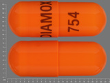 DIAMOX;754. 12 HR Acetazolamide 500 MG Extended Release Oral Capsule [Diamox]. Ingredients: ACETAZOLAMIDE[ACETAZOLAMIDE]