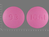 93;1041. 24 HR Diclofenac Sodium 100 MG Extended Release Oral Tablet. Ingredients: Diclofenac Sodium[Diclofenac]
