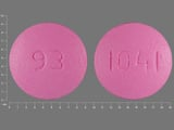 93;1041. diclofenac sodium 100 MG 24 HR Extended Release Tablet. Ingredients: Diclofenac