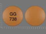 GG738. Diclofenac Sodium - Diclofenac Sodium 50 MG Delayed Release Oral Tablet. Ingredients: DICLOFENAC SODIUM