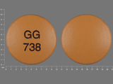 GG738. diclofenac sodium 50 MG Delayed Release Tablet. Ingredients: Diclofenac