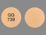GG739. Diclofenac Sodium 75 MG Delayed Release Oral Tablet. Ingredients: DICLOFENAC SODIUM[DICLOFENAC]