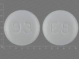 93;E8. Eszopiclone 2 MG Oral Tablet. Ingredients: ESZOPICLONE[ESZOPICLONE]