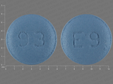 93;E9. Eszopiclone 3 MG Oral Tablet. Ingredients: ESZOPICLONE[ESZOPICLONE]
