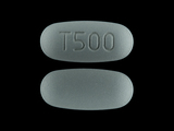 T500. 24 HR Etodolac 500 MG Extended Release Oral Tablet. Ingredients: Etodolac[Etodolac]