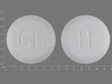 CL;11. hyoscyamine sulfate SL 0.125 Disintegrating Sublingual Tablet. Ingredients: Hyoscyamine