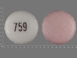 759. venlafaxine 75 MG 24 HR Extended Release Tablet. Ingredients: venlafaxine