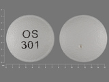OS301. venlafaxine 37.5 MG 24 HR Extended Release Tablet. Ingredients: venlafaxine