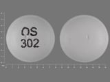 OS302. venlafaxine 75 MG 24 HR Extended Release Tablet. Ingredients: venlafaxine