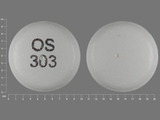 OS303. venlafaxine 150 MG 24 HR Extended Release Tablet. Ingredients: venlafaxine