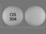 OS304. venlafaxine 225 MG 24 HR Extended Release Tablet. Ingredients: venlafaxine