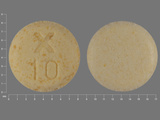 X10. 24 HR UroXatral 10 MG Extended Release Tablet. Ingredients: alfuzosin