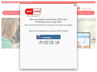 AdvPharmacy.com review screenshot
