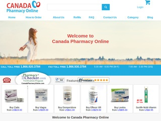 canadapharmacyonline.com review screenshot