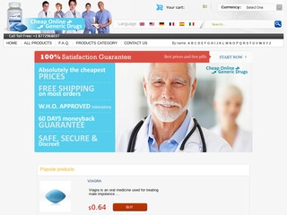 cheaponlinegenericdrugs.com review screenshot