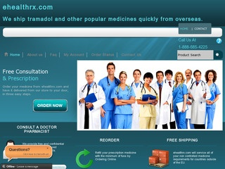 eHealthRx.com review screenshot