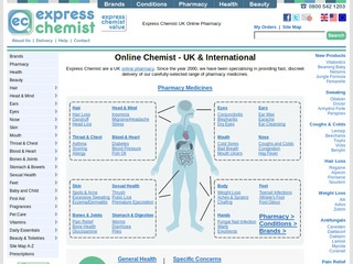 expresschemist.co.uk review screenshot