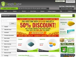 GenericDoctor.com review screenshot