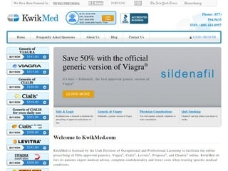 KwikMed.com review screenshot