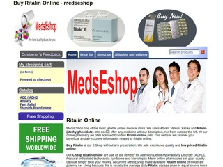 medseshop.com review screenshot