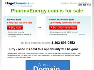 PharmaEnergy.com review screenshot