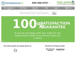ProgressiveRx.com review screenshot