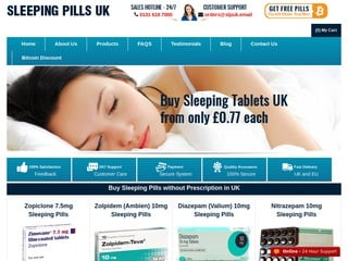 Sleeping Pills UK revisión captura de pantalla