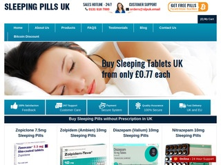 Sleeping Pills UK review screenshot