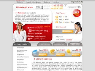 ultimate-pill-store.com review screenshot
